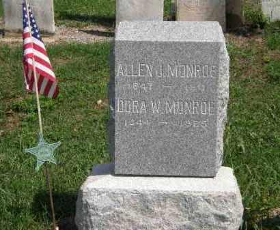 MONROE, DORA - Lorain County, Ohio   DORA MONROE - Ohio Gravestone Photos