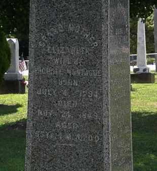 MONTAGUE, ELIZABETH - Lorain County, Ohio | ELIZABETH MONTAGUE - Ohio Gravestone Photos
