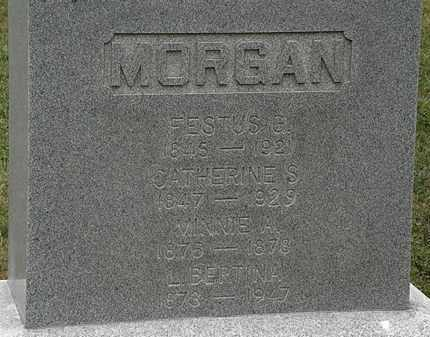 MORGAN, MINNIE A. - Lorain County, Ohio | MINNIE A. MORGAN - Ohio Gravestone Photos