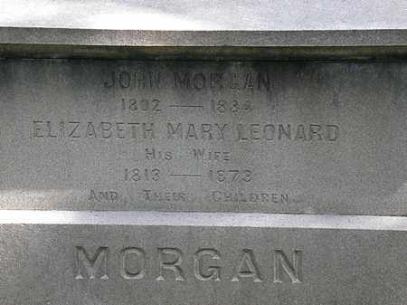 MORGAN, JOHN - Lorain County, Ohio | JOHN MORGAN - Ohio Gravestone Photos