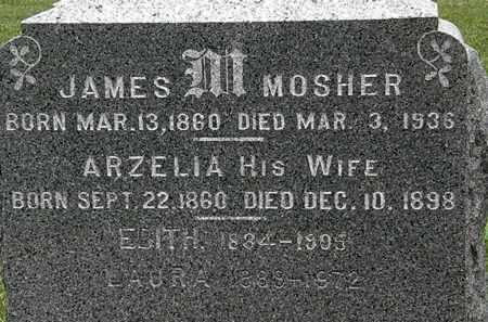 MOSHER, JAMES - Lorain County, Ohio | JAMES MOSHER - Ohio Gravestone Photos