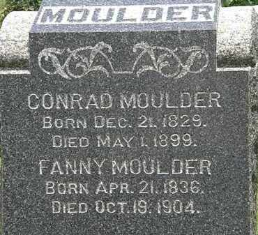 MOULDER, FANNY - Lorain County, Ohio | FANNY MOULDER - Ohio Gravestone Photos