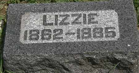 MOULDER, LIZZIE - Lorain County, Ohio | LIZZIE MOULDER - Ohio Gravestone Photos