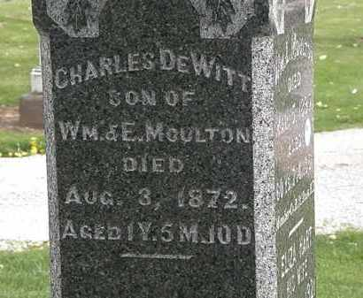 MOULTON, WM. - Lorain County, Ohio | WM. MOULTON - Ohio Gravestone Photos