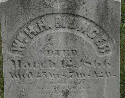 MUNGER, WM. H.H. - Lorain County, Ohio | WM. H.H. MUNGER - Ohio Gravestone Photos