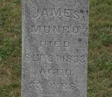 MUNRO, JAMES - Lorain County, Ohio | JAMES MUNRO - Ohio Gravestone Photos