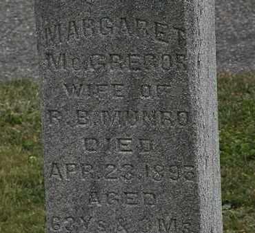 MUNRO, MARGARET - Lorain County, Ohio | MARGARET MUNRO - Ohio Gravestone Photos