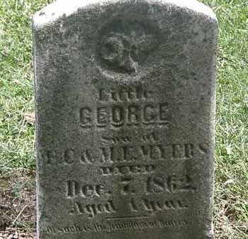 MYERS, E.C. - Lorain County, Ohio | E.C. MYERS - Ohio Gravestone Photos