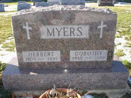 BAULDAUD MYERS, DOROTHY - Lorain County, Ohio   DOROTHY BAULDAUD MYERS - Ohio Gravestone Photos