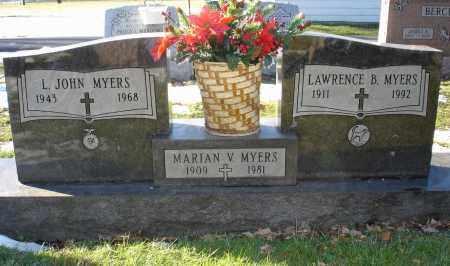 MYERS, LAWRENCE B. - Lorain County, Ohio | LAWRENCE B. MYERS - Ohio Gravestone Photos