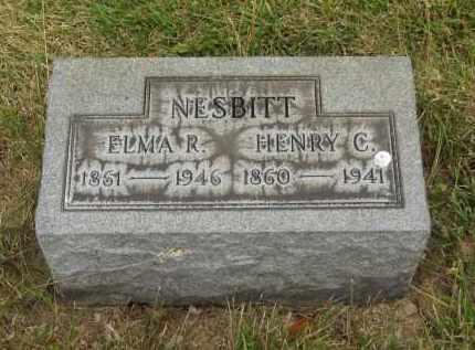NESBITT, ELMA R. - Lorain County, Ohio | ELMA R. NESBITT - Ohio Gravestone Photos