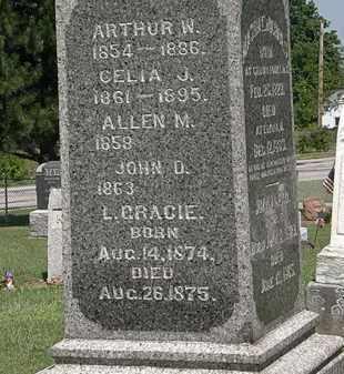 NICHOLS, CELIA J. - Lorain County, Ohio   CELIA J. NICHOLS - Ohio Gravestone Photos