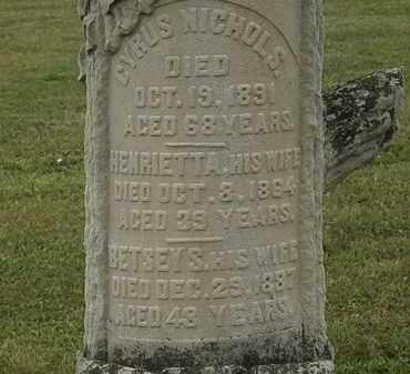 NICHOLS, HENRIETTA - Lorain County, Ohio | HENRIETTA NICHOLS - Ohio Gravestone Photos