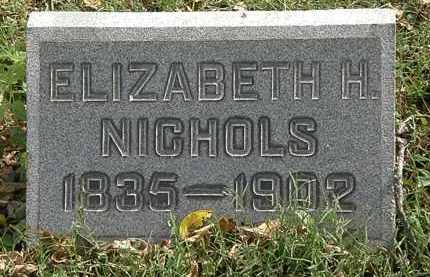 NICHOLS, ELIZABETH H. - Lorain County, Ohio | ELIZABETH H. NICHOLS - Ohio Gravestone Photos