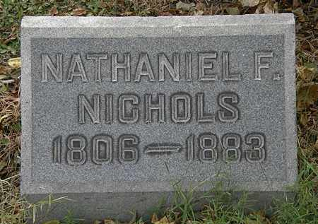 NICHOLS, NATHANIEL F. - Lorain County, Ohio | NATHANIEL F. NICHOLS - Ohio Gravestone Photos