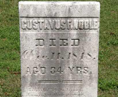 NOBLE, GUSTAVUS F. - Lorain County, Ohio | GUSTAVUS F. NOBLE - Ohio Gravestone Photos