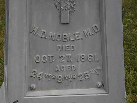 NOBLE, H.D. - Lorain County, Ohio | H.D. NOBLE - Ohio Gravestone Photos