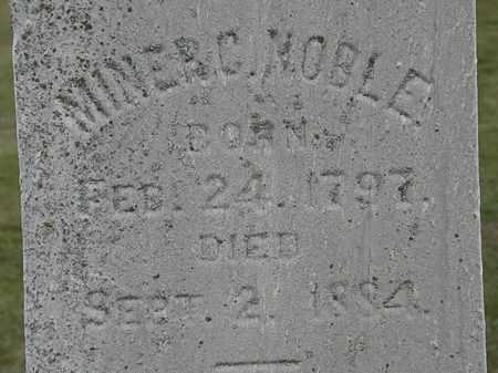 NOBLE, MINER C. - Lorain County, Ohio | MINER C. NOBLE - Ohio Gravestone Photos