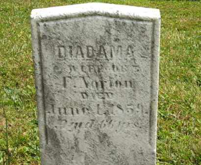 NORTON, DIADAMA - Lorain County, Ohio | DIADAMA NORTON - Ohio Gravestone Photos