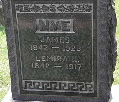 NYE, JAMES - Lorain County, Ohio   JAMES NYE - Ohio Gravestone Photos