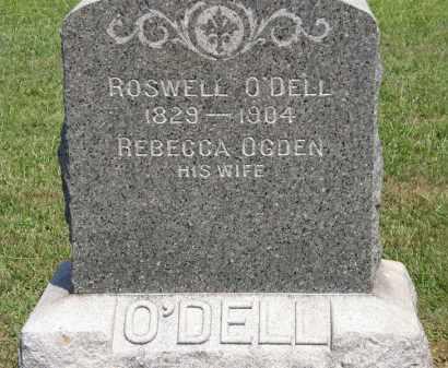 OGDEN O;DELL, REBECCA - Lorain County, Ohio | REBECCA OGDEN O;DELL - Ohio Gravestone Photos