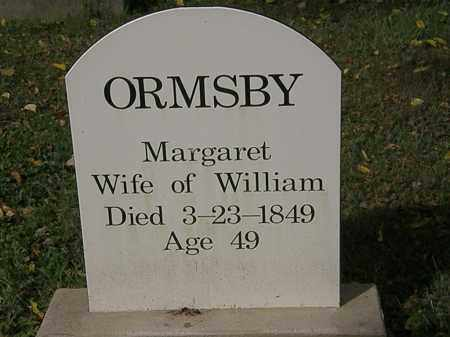ORMSBY, MARGARET - Lorain County, Ohio | MARGARET ORMSBY - Ohio Gravestone Photos
