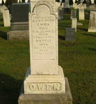 OWEN, HATTIE - Lorain County, Ohio | HATTIE OWEN - Ohio Gravestone Photos