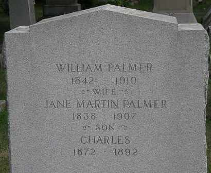 PALMER, WILLIAM - Lorain County, Ohio | WILLIAM PALMER - Ohio Gravestone Photos