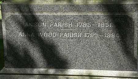 PARISH, ANSON - Lorain County, Ohio | ANSON PARISH - Ohio Gravestone Photos