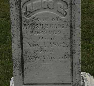 PARSONS, AMOS H. - Lorain County, Ohio | AMOS H. PARSONS - Ohio Gravestone Photos