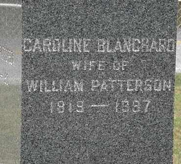 PATTERSON, CAROLINE - Lorain County, Ohio | CAROLINE PATTERSON - Ohio Gravestone Photos