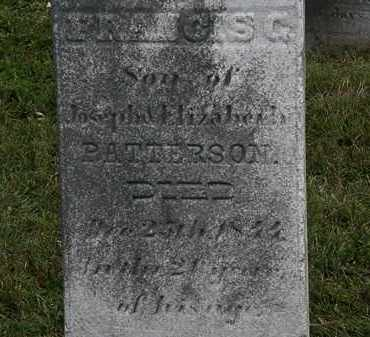 PATTERSON, JOSEPH - Lorain County, Ohio   JOSEPH PATTERSON - Ohio Gravestone Photos