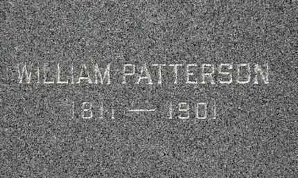 PATTERSON, WILLIAM - Lorain County, Ohio | WILLIAM PATTERSON - Ohio Gravestone Photos