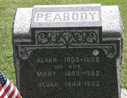 PEABODY, MARY - Lorain County, Ohio | MARY PEABODY - Ohio Gravestone Photos