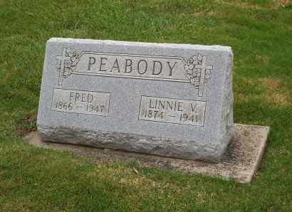 PEABODY, FRED - Lorain County, Ohio | FRED PEABODY - Ohio Gravestone Photos