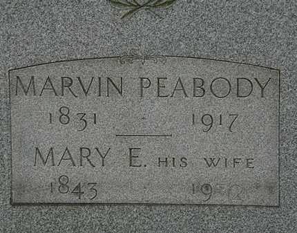 PEABODY, MARY E. - Lorain County, Ohio | MARY E. PEABODY - Ohio Gravestone Photos