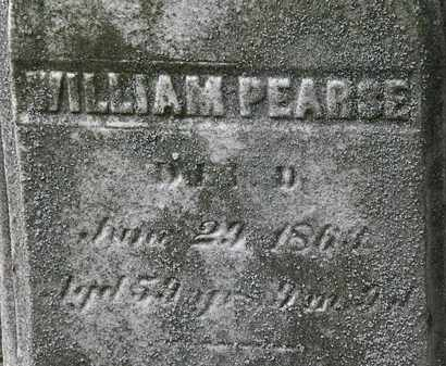 PEARSE, WILLIAM - Lorain County, Ohio | WILLIAM PEARSE - Ohio Gravestone Photos