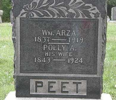 PEET, POLLY A. - Lorain County, Ohio | POLLY A. PEET - Ohio Gravestone Photos