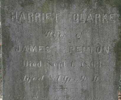 PELTON, HARRIET - Lorain County, Ohio   HARRIET PELTON - Ohio Gravestone Photos