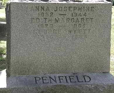 PENFIELD, ANNA JOSEPHINE - Lorain County, Ohio | ANNA JOSEPHINE PENFIELD - Ohio Gravestone Photos