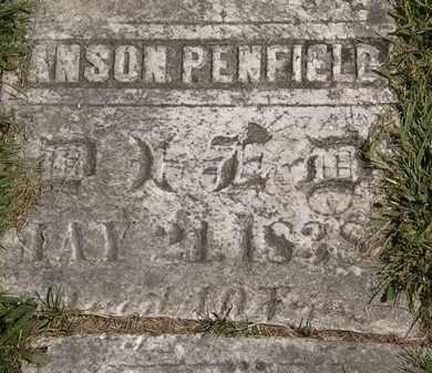 PENFIELD, ANSON - Lorain County, Ohio | ANSON PENFIELD - Ohio Gravestone Photos