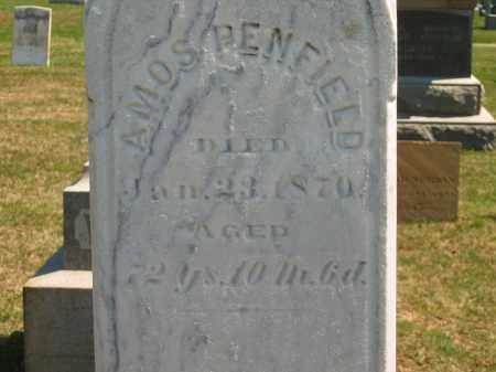 PENFIELD, AMOS - Lorain County, Ohio | AMOS PENFIELD - Ohio Gravestone Photos