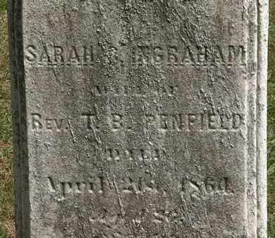 INGRAHAM PENFIELD, SARAH - Lorain County, Ohio | SARAH INGRAHAM PENFIELD - Ohio Gravestone Photos