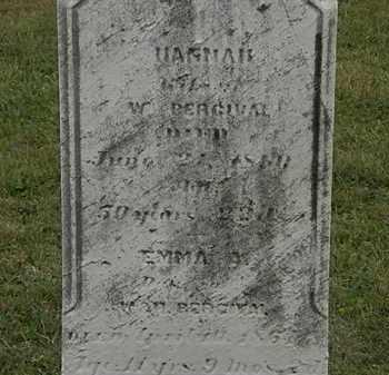 PERCIVAL, W. - Lorain County, Ohio | W. PERCIVAL - Ohio Gravestone Photos