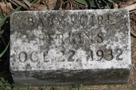 PERKINS, BABY GIRL - Lorain County, Ohio | BABY GIRL PERKINS - Ohio Gravestone Photos