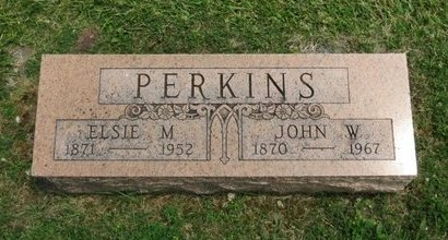 PERKINS, JOHN W. - Lorain County, Ohio | JOHN W. PERKINS - Ohio Gravestone Photos