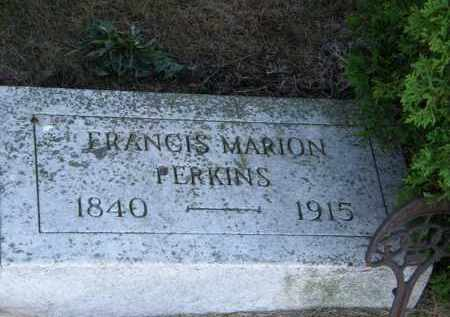 PERKINS, FRANCIS MARION - Lorain County, Ohio | FRANCIS MARION PERKINS - Ohio Gravestone Photos