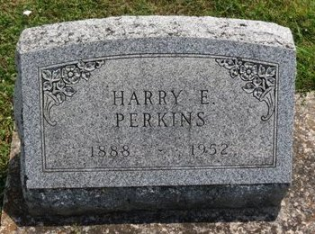 PERKINS, HARRY E. - Lorain County, Ohio | HARRY E. PERKINS - Ohio Gravestone Photos