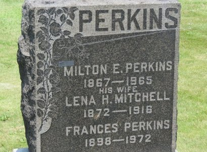 PERKINS, MILTON E. - Lorain County, Ohio | MILTON E. PERKINS - Ohio Gravestone Photos