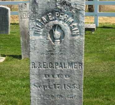PALMER PERMAIN, JULIA E. - Lorain County, Ohio | JULIA E. PALMER PERMAIN - Ohio Gravestone Photos